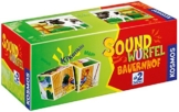 Kosmos 697365 - Soundwürfel Bauernhof, Kinderspiel -