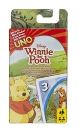 Mattel 54480 - UNO Junior Winnie Puuh, Kartenspiel (Sortiert Modell) -