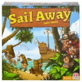 Mattel Spiele DNM66 - Sail Away, Strategiespiel -