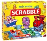 Mattel T1942-0 - Mein erstes Scrabble, Brettspiel -