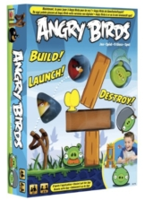 Mattel W2793 - Angry Birds, Brettspiel zur App -