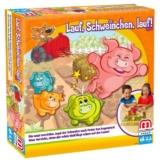 Mattel Y2552 - Lauf Schweinchen lauf, Strategiespiel für Kinder -