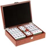 Philos 3166 - Mah Jongg, Designbox, mit arabischen Zeichen, Strategiespiel -