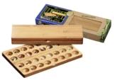 Philos 3257 - Hus, Bambus, klein, Green Games, Steinchenspiel, Strategiespiel -