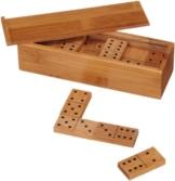 Philos 3265 - Domino Doppel 6, Bambus, Green Games, Legespiel -