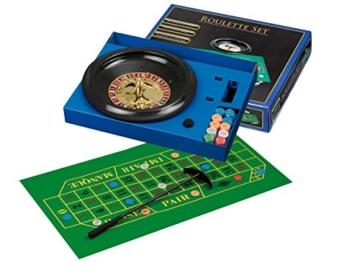 Philos 3701 – Roulette Set, mit Kunststoffteller -