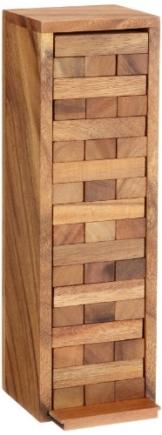 Philos 6003 - Verflixter Turm, groß, Höhe 30,0 cm, Geschicklichkeitsspiel -